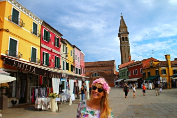 """Emelia"" my store on Burano!"