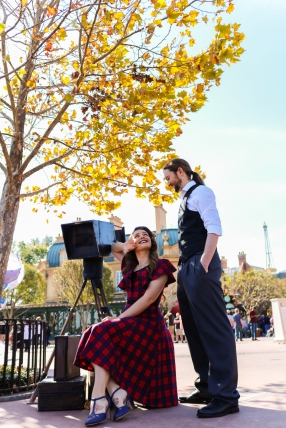 Madeline & Kevin - Epcot Shoot